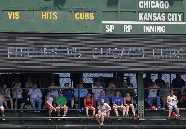 Cubs May Need City's OK for New Sign