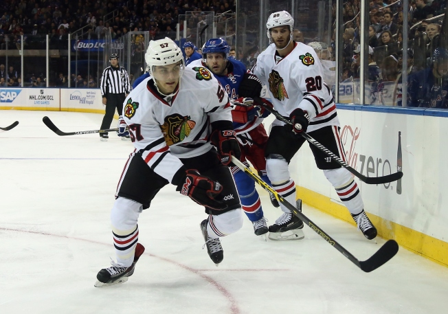 Van Riemsdyk Placed on LTIR Amid Flurry of Hawks' Roster Moves