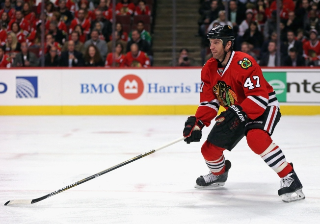 Blackhawks Place Rob Scuderi on Waivers