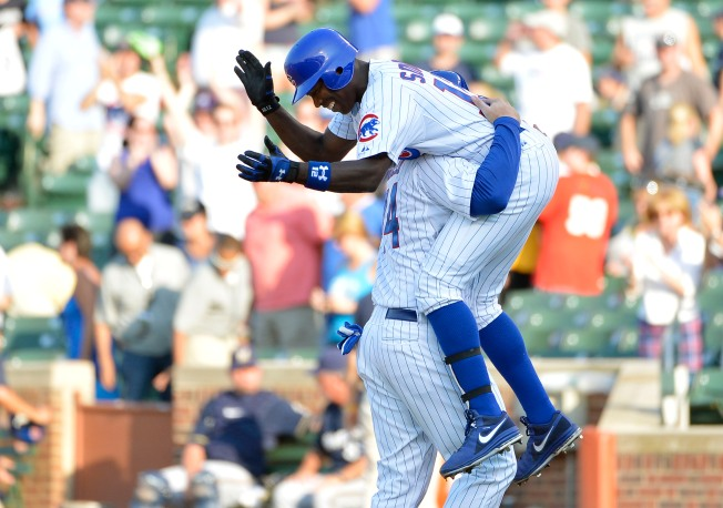 Cubs Rally to Beat Brewers in Slugfest