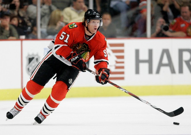 Blackhawks Campbell Enjoys a Speedy Recovery