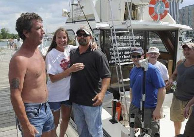 Couple Saved by Fishing Charter After Boat Capsizes