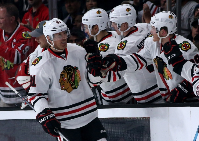 Three Stars: Richards, Bickell Shine as Hawks Beat Wild