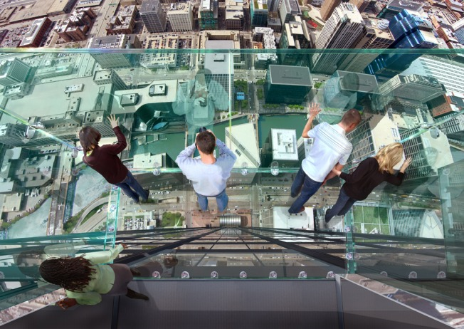"New Sears Tower ""Ledge"" Will Blow Your Mind"