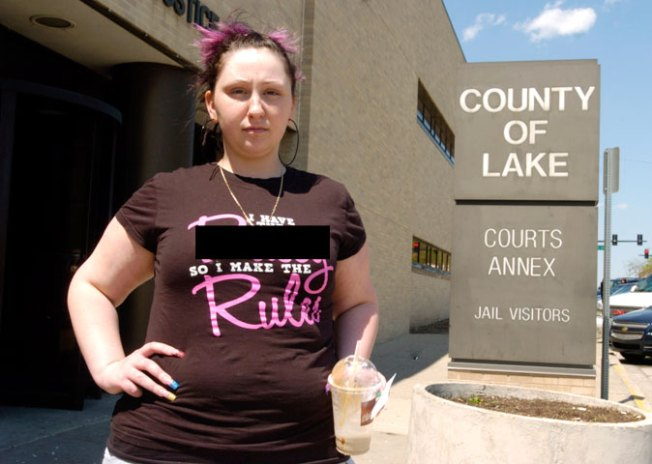 Offensive T-Shirt Lands Woman in Jail