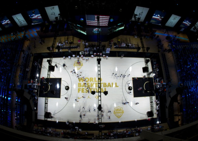 Chicago Represents at Nike's World Basketball Festival