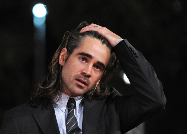 Colin Farrell Baptizes New Son In Poland