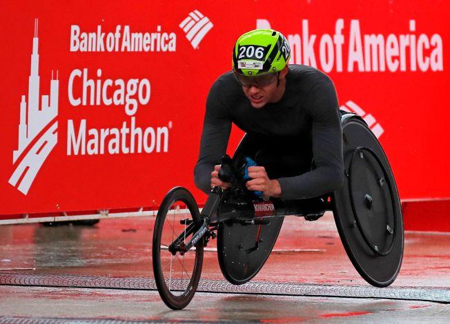 2019 Bank of America Chicago Marathon Wheelchair Elite: Daniel Romanchuk