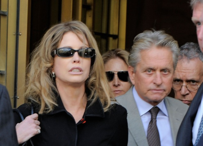 Greed 2: Michael Douglas' Ex Wants Piece of New Wall St. Flick