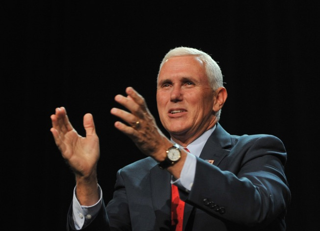 Democrats Protest Pence's Chicago Appearance, Pence Cancels