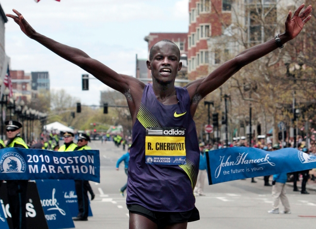 Kenyan Wins Boston Marathon, Breaks Course Record