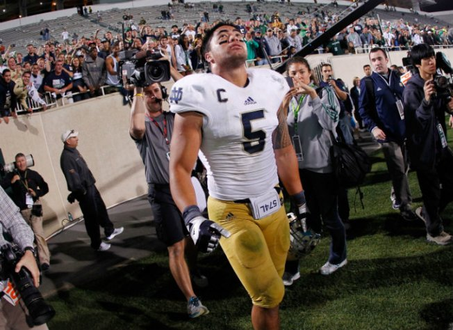 Manti Te'o Becomes Late Night Joke Fodder