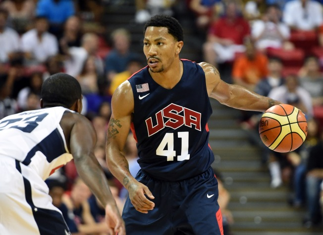 Derrick Rose Makes Team USA's 16-Man Cut