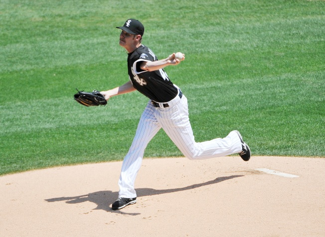 Sale Pitches 2-Hitter, White Sox Beat Padres 4-1