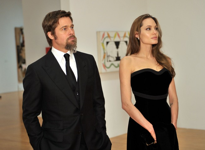 Brad and Angelina Would Marry if Kids Asked