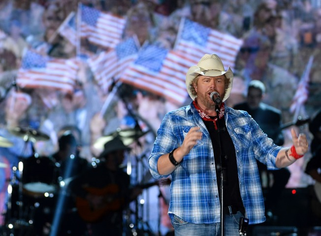 Rauner Announces Toby Keith Will Headline Inaugural Concert