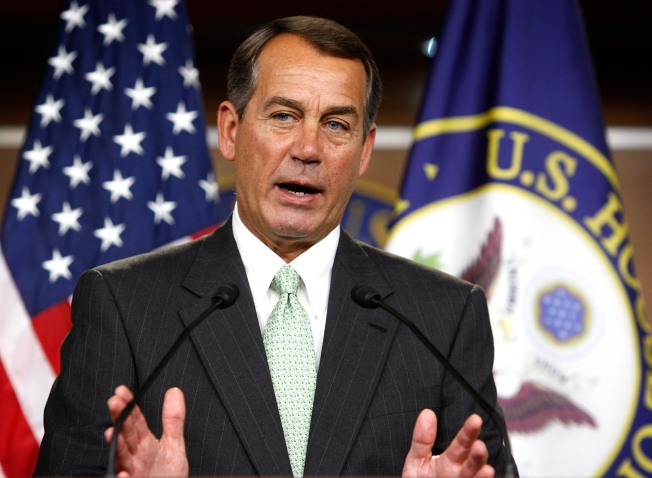 Boehner Says Thomson Prison Will Never Happen