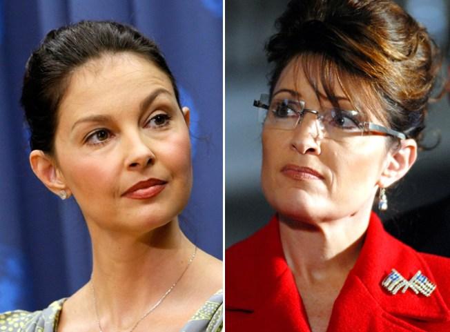 Palin Hits Back at Judd
