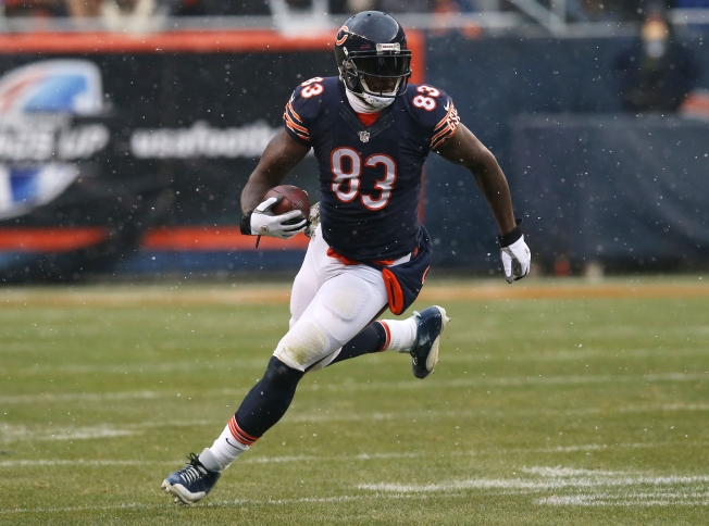Martellus Bennett Skips OTA Workouts at Halas Hall Wednesday