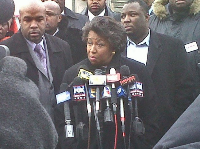 Moseley Braun Wants to Talk Crime, Not Taxes