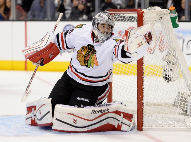 Top 5 Blackhawks Camp Storylines: Crawford's New Contract