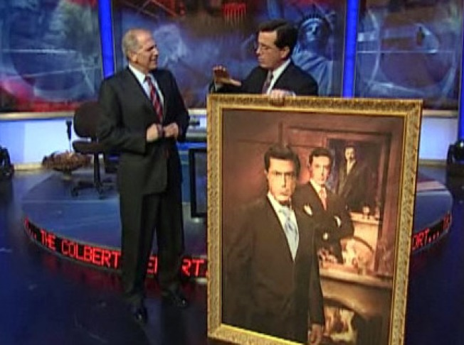 Last Chance to See Stephen Colbert's Portrait