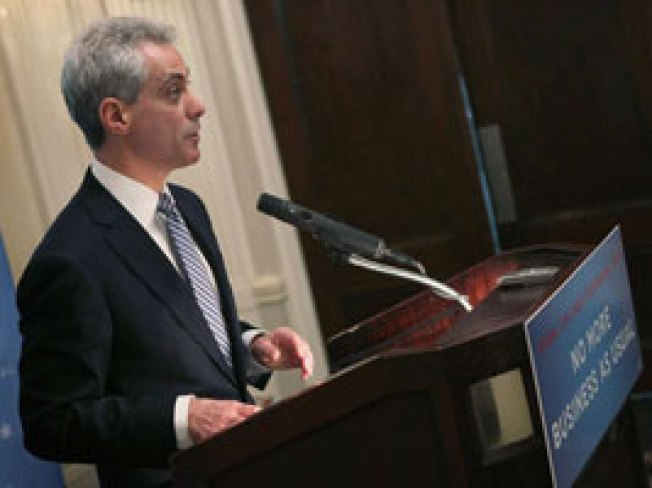 Emanuel Calls for City-Owned Car Count