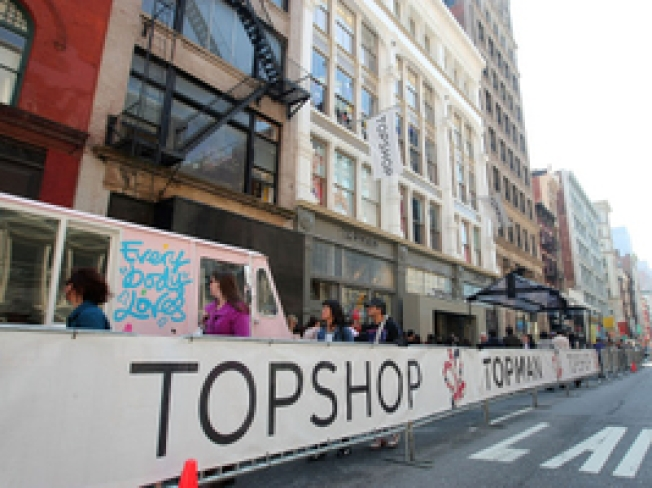 Topshop Mobile Truck Rolls in for Lolla