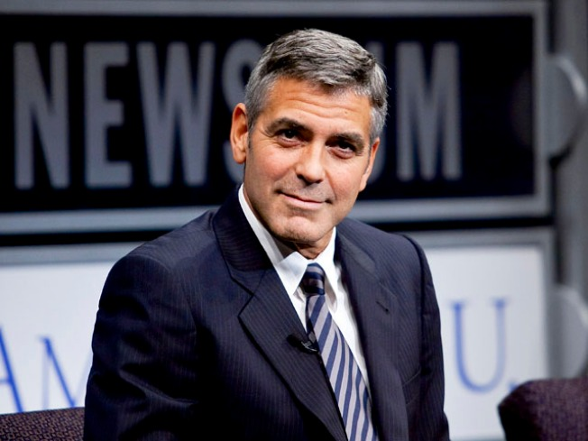 "George Clooney Suffers Broken Hand in Car ""Accident"""