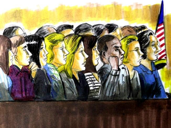 One Juror Down at Blago Trial