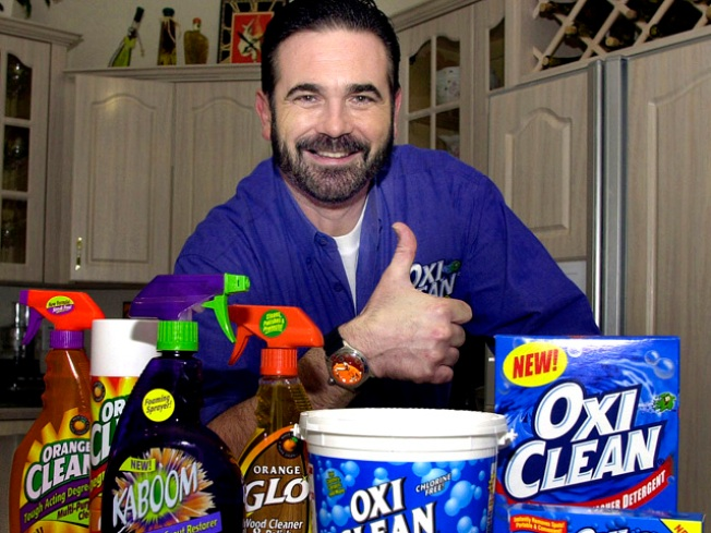 Pitchman Billy Mays Was on the Powder