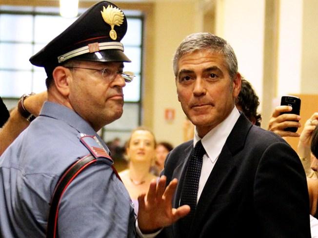 George Clooney Testifies In Italian Court