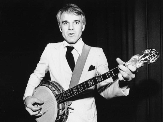 Hear Banjo Music By Steve Martin