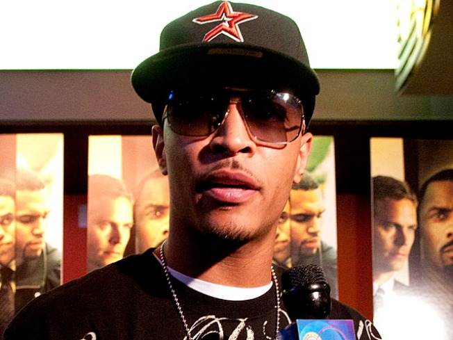 T.I. Makes First Public Appearance Since Drug Bust