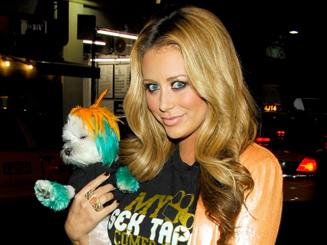 """Aubrey O'Day: My Pup """"Prefers"""" Her Fur to Be Dyed"""