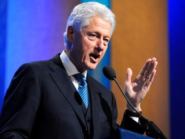 Rahm Offers a Chance to Meet Bill Clinton