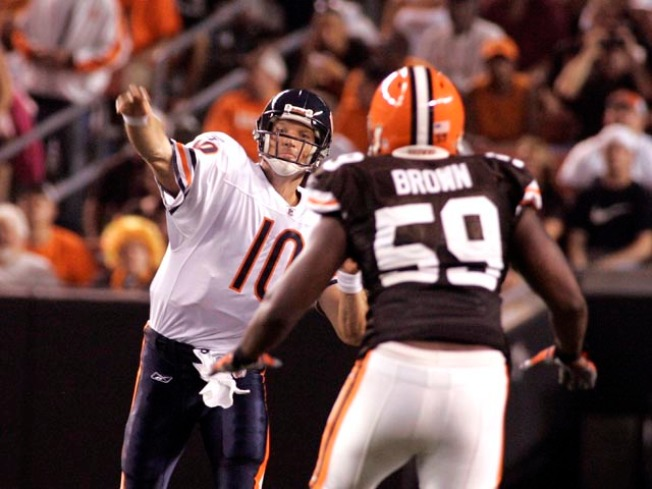 Bears Fall to Browns in Final Pre-Season Game