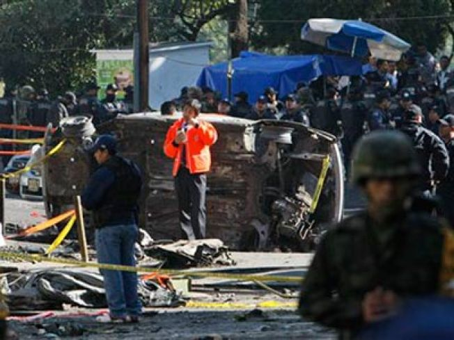 High-Ranking Official in Mexican Gov't Killed in Fiery Plane Crash