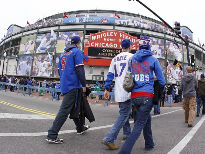 Birds Flock to Wrigley, Fans Don't
