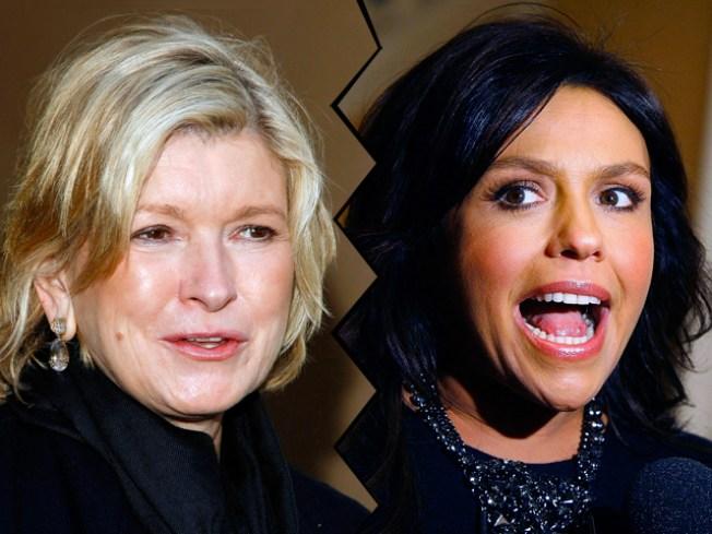 Martha Stewart: Rachael Ray Can't Cook