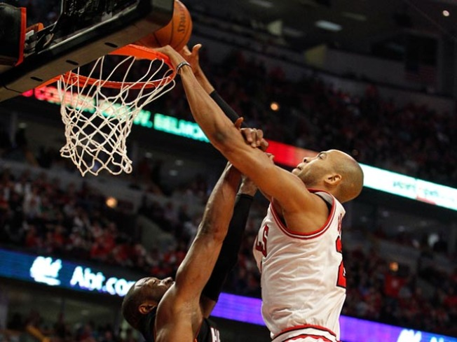 Taj Gibson Made D-Rose Stand Up and Cheer