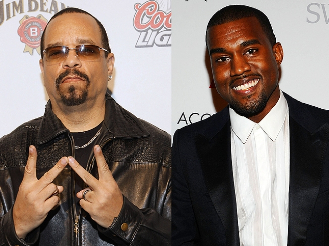 Ice-T Weighs in on Kanye West