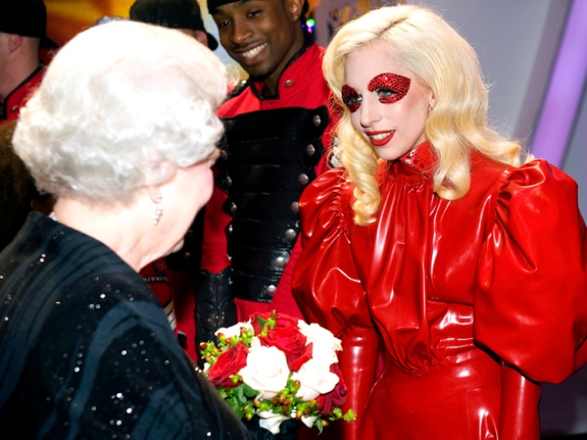 Queen Goes Gaga for Lady