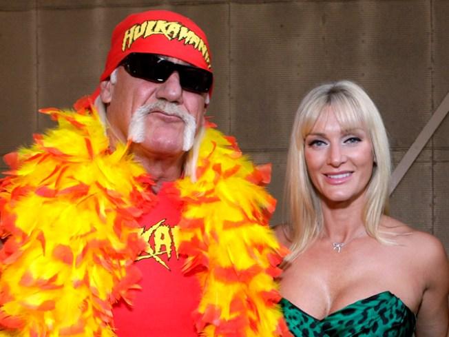 Cops Do Cameo at Hulk Hogan's Wedding