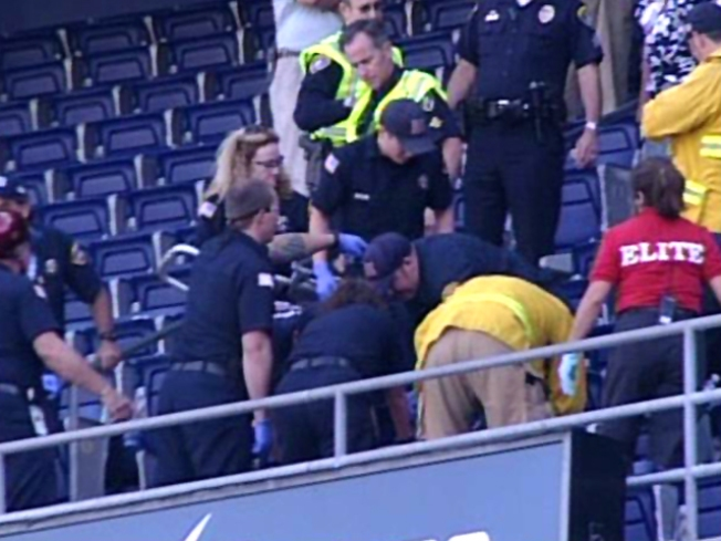 Man Dies in Fall from Chargers Press Box