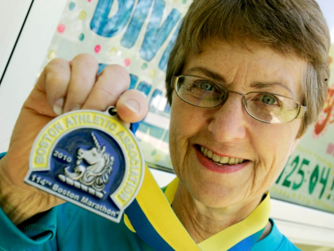 Lombard Granny Wins Big in Boston Marathon