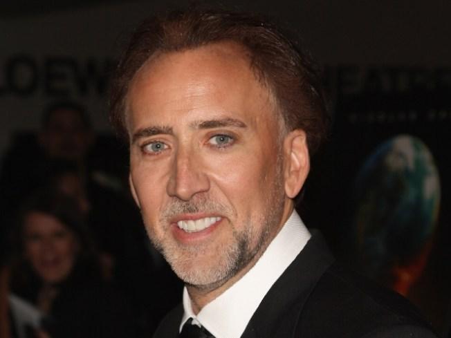 Nicolas Cage Wins U.N. Award