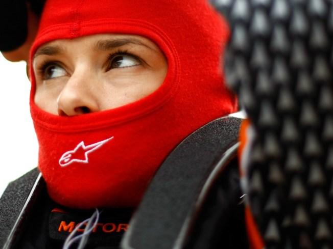 Danica, Earnhardt Crash at Daytona