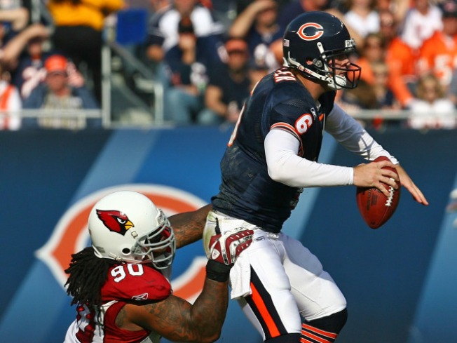 Warner Bags Bears, Cardinals Win 41-21 in Chicago