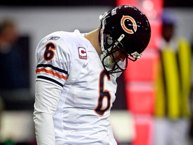 Bears Round-Up: Cutler's Misfires